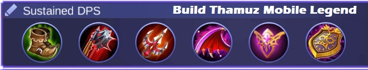 Build Thamuz Mobile Legend