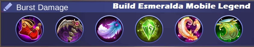 build esmeralda mobile legend